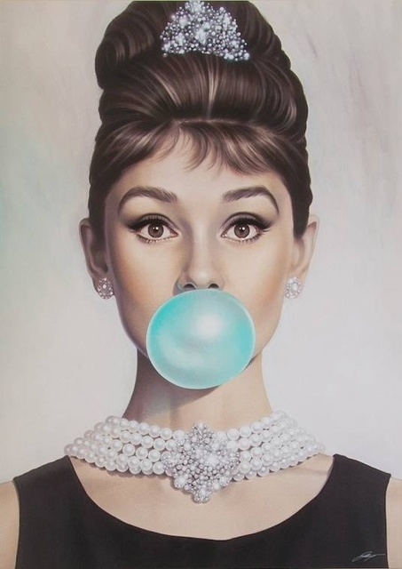 , 'Audrey Tiffany Blue,' , Art Angels