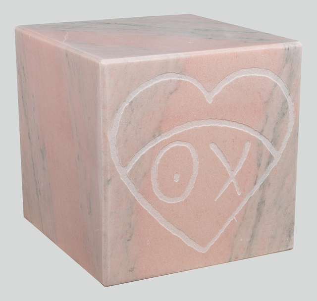 , 'Mr. A Pink Marble Cube 35 cm 1,' 2018, Underdogs Gallery