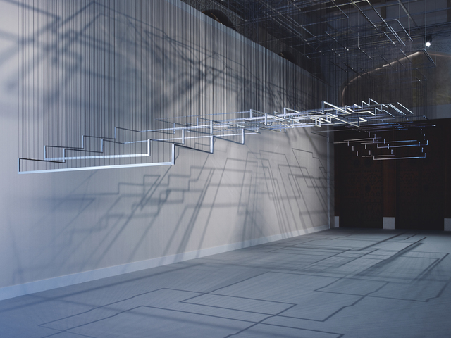 , 'Flying Carpets,' 2011, Guggenheim Museum