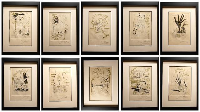 , 'Les Amours Jaunes Complete Suite 10 Pieces,' 1974, Fine Art Acquisitions