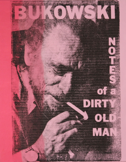 , 'Notes of a Dirty Old Man,' 2017, Bitfactory Gallery