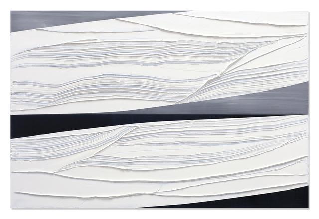 , 'Untitled White 5,' 2018, Sundaram Tagore Gallery
