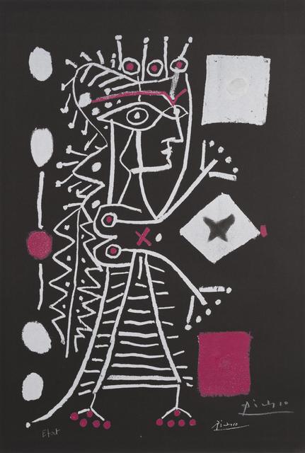 Pablo Picasso, 'La Femme Aux Des (Jacqueline) ', 1960, Kings Wood Art