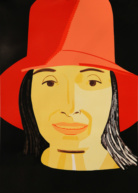, 'Red Hat Ada,' 2015, Meyerovich Gallery