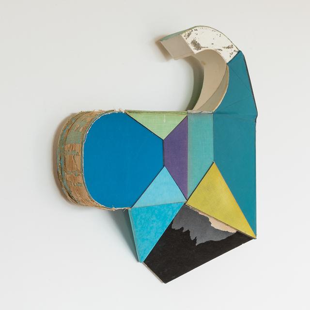 Conny Goelz Schmitt, 'Long Haul', 2020, Sculpture, Vintage book parts, Kathryn Markel Fine Arts