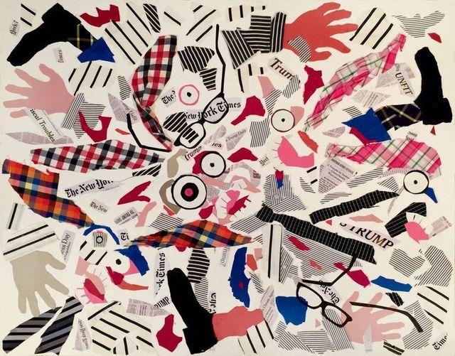 , 'Exploding Businessmen Bunnies (New York Times),' 2017, The FLAG Art Foundation