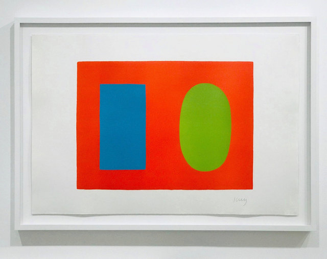 , 'Blue and Green over Orange,' 1964, Robert Fontaine Gallery