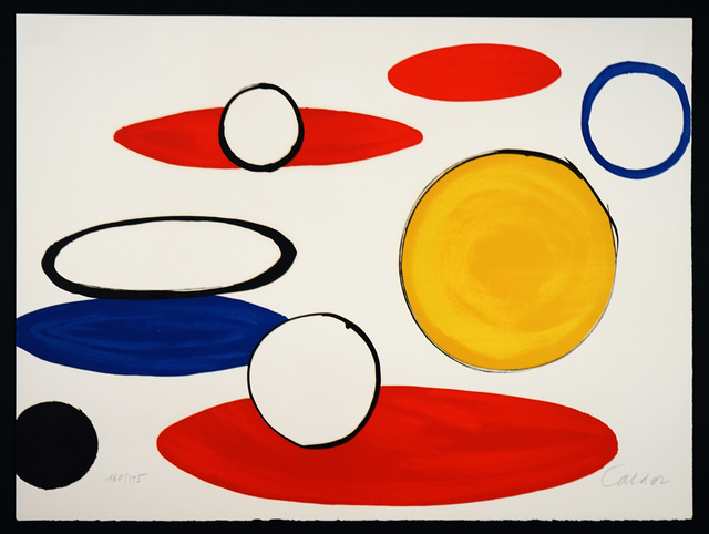 "Alexander Calder, '""Circles"" from Our Unfinished Revolution', 1975, Pascal Fine Art"