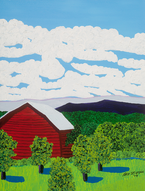 , 'Red Barn Near Livingston,' 2014, ACA Galleries