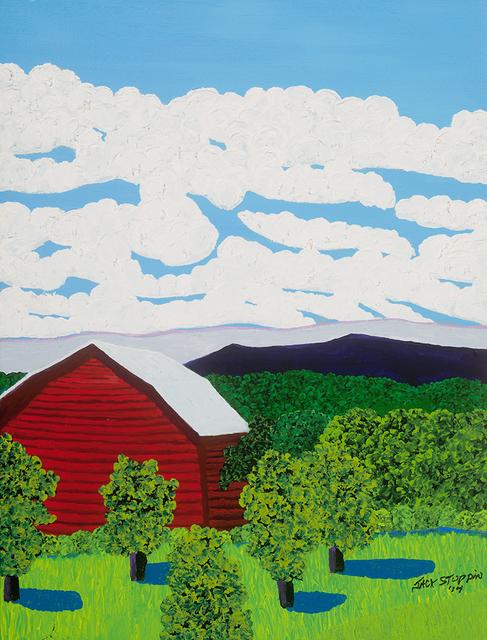 , 'Red Barn Near Livingston,' 2014, ACA Galleries