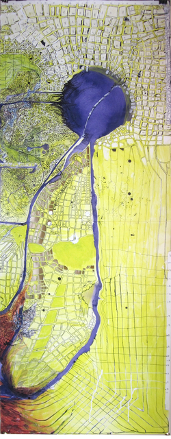 , 'Map (City),' 2010-2012, Shoestring Press