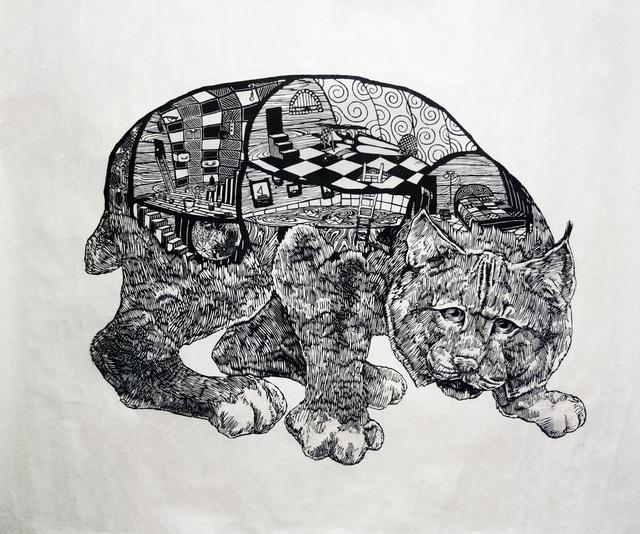 , 'Canadian Lynx,' 2014, Red Arrow Gallery