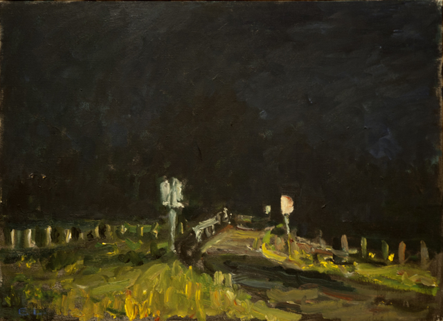 , 'Night Bridge,' 1991, C. Grimaldis Gallery