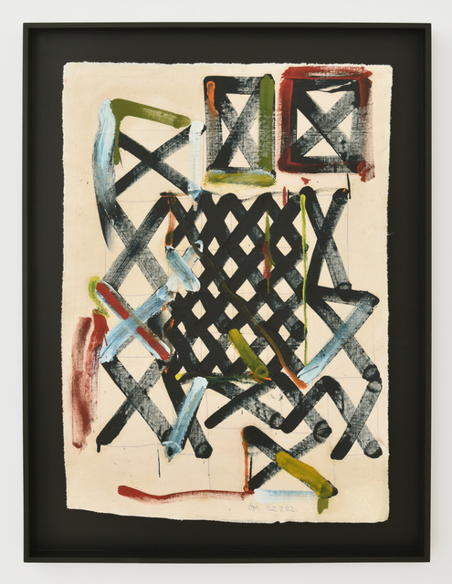 Allen Maddox, 'Untitled', 1982, Painting, Oil on unstretched canvas, Gow Langsford Gallery