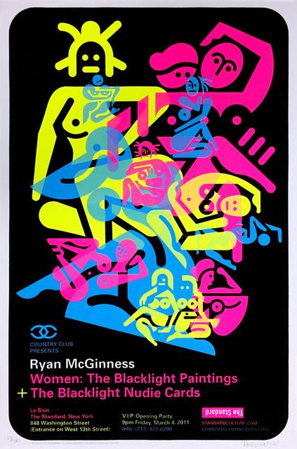Ryan McGinness, 'Signed Ryan McGinness Women Screenprint ', 2010, Lot 180