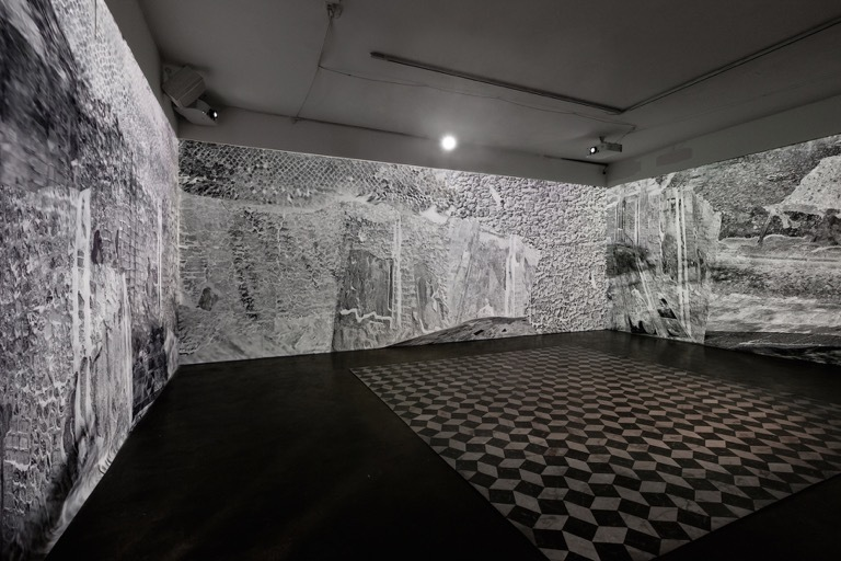 Theresa Ganz Wave Room.  Image courtesy of Smack Mellon.  Photo by Etienne Frossard. Installation view.