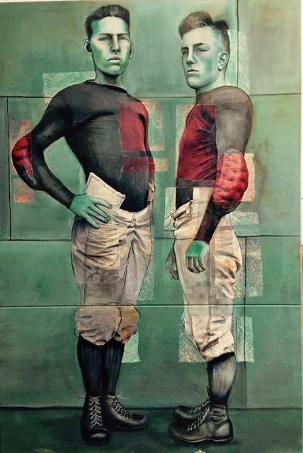 , 'Two Sportsmen: Naval Academy Annapolis Maryland 1913,' 2014, Hudson Milliner Art Salon