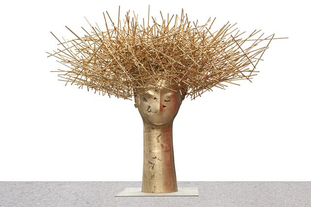 , 'CABEZA DORADA,' 2017, Opera Gallery