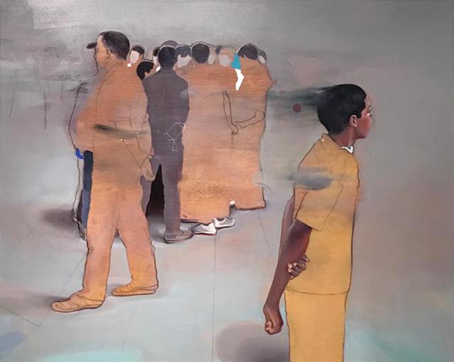 , 'La Foule,' 2018, Nil Gallery