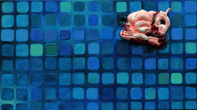Heidi Neff, 'Blister', 2017, Painting, Acrylic on canvas, Amos Eno Gallery