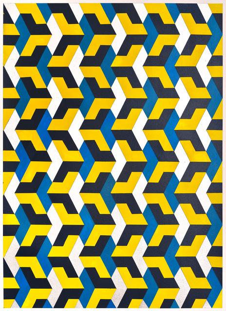 , 'Chevron Yellow,' 2015, K. Imperial Fine Art