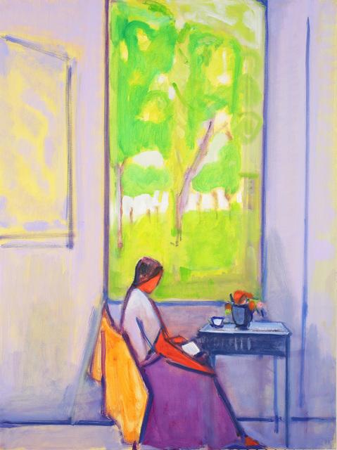 Elizabeth Higgins, 'Woman by Window', 2018, Prince Street Gallery