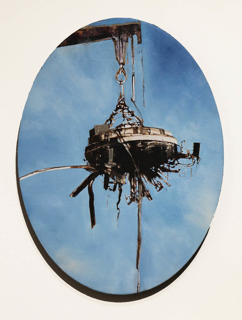 , 'Magnetic Oval ,' 2012, Peter Robertson Gallery