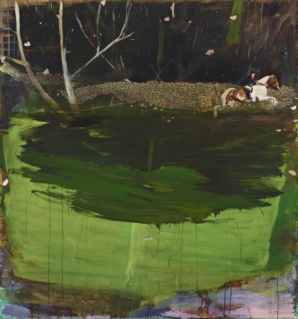 , 'Along the Wall of Stones,' 2017, Berggruen Gallery