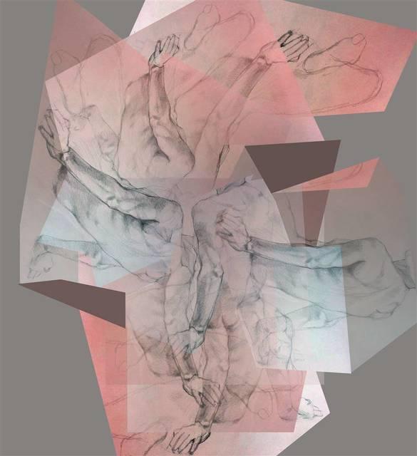 , 'Transcending Planar Space 2,' 2018, Agora Gallery