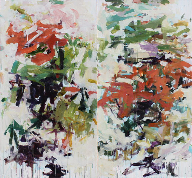 , 'Beijing Trees,' 2016, Susan Calloway Fine Arts