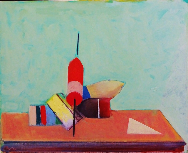 , 'Still Life with Triange,' 2014, Lawrence Fine Art