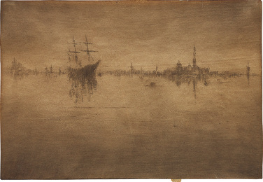 Nocturne, from Venice, a Series of Twelve Etchings (the First Venice Set)