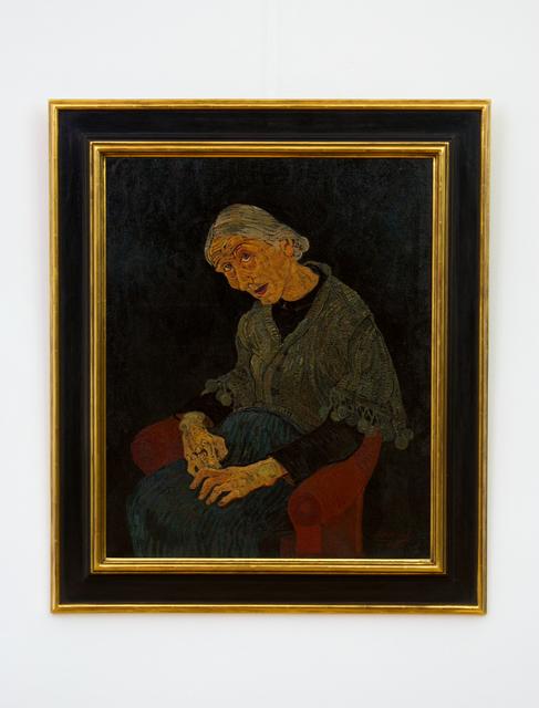 , 'Alte Pariserin (Old Parisienne),' 1930, Hagemeier