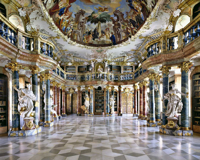 , 'Wiblingen Abbey Library, Germany | World Libraries,' 1994, CHROMA GALLERY