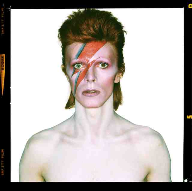 , 'David Bowie: Aladdin Sane, Eyes Open signed by David Bowie,' 1973, ElliottHalls