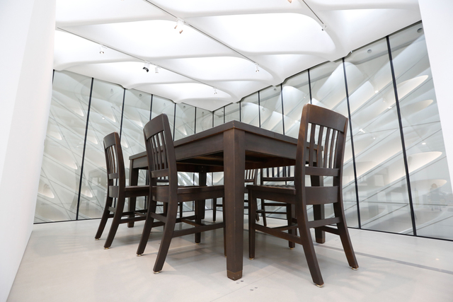 , 'Under the Table,' 1994, The Broad