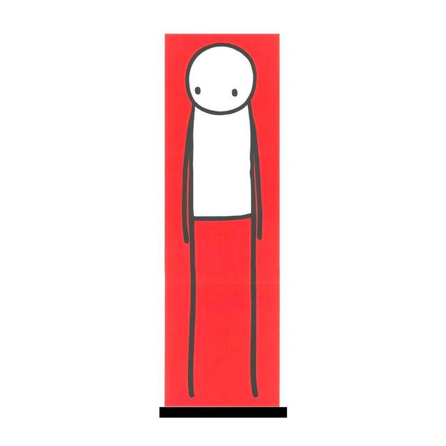 Stik, 'Standing Figure (Red)', 2013, Artsnap