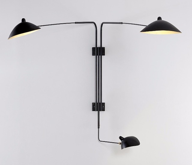 , 'Three-arm wall sconce,' ca. 1955, DeLorenzo Gallery