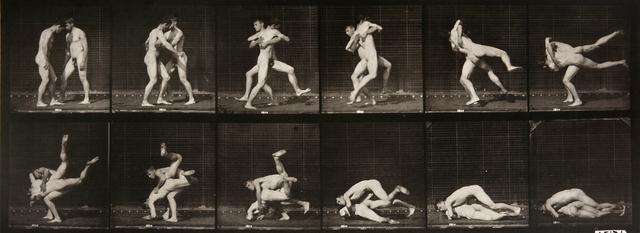 , 'Animal Locomotion: Plate 347 (Nude Men Wrestling),' 1887, Huxley-Parlour