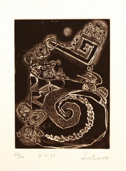 Frank Lobdell, '2.1.97', 1997, Dolby Chadwick Gallery