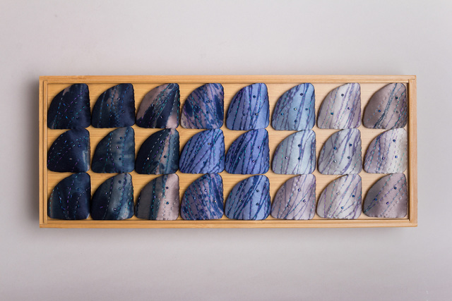 , 'Indigo Wagashi Series I,' 2018, Tansey Contemporary
