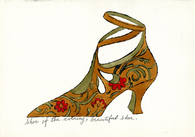 , 'Shoe of the Evening, Beautiful Shoe,' c. 1955, Williams College Museum of Art