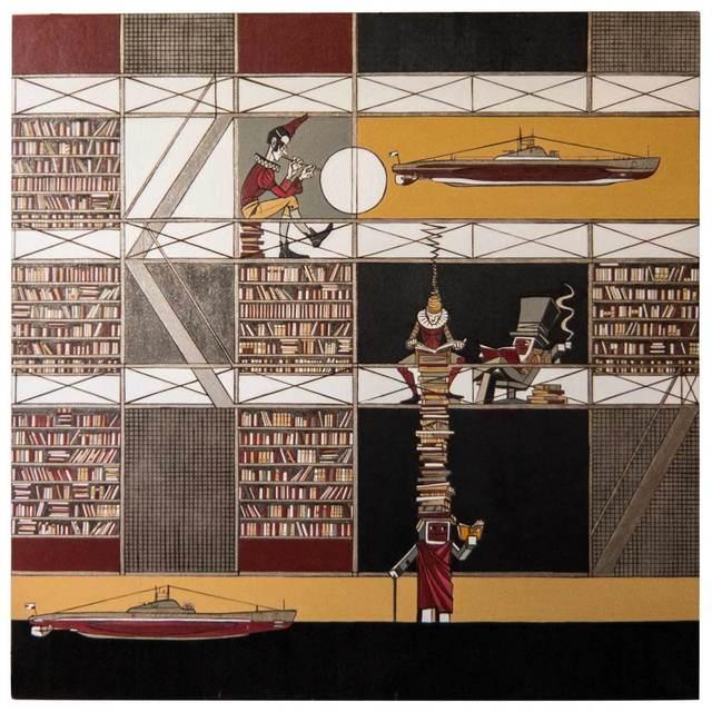 """, '""""Pikes"""",' 2012, Krokin Gallery"""