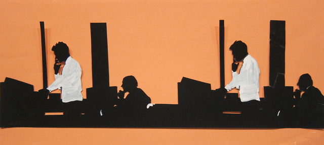 , 'Office Test,' 1968, Hollis Taggart