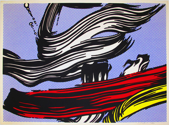 Roy Lichtenstein, 'Brushstrokes', 1967, Hamilton-Selway Gallery Auction