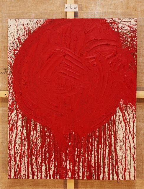 , 'Schüttbild,' 2018, Galerie Elisabeth & Klaus Thoman