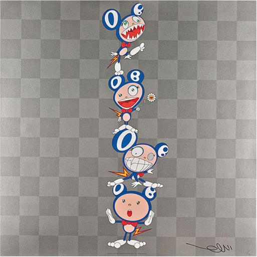Takashi Murakami, 'DOB Totem Pole', 2000, Dope! Gallery