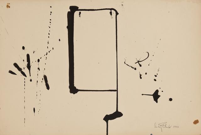 , 'Black Galaxy,' 1950, Hollis Taggart Galleries