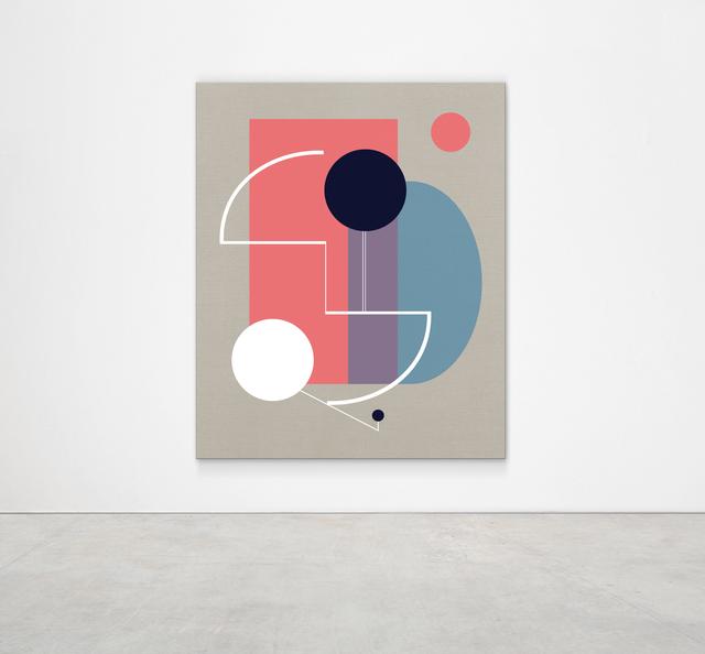, 'A Gelato Kiss (Peach),' 2019, Kristin Hjellegjerde Gallery