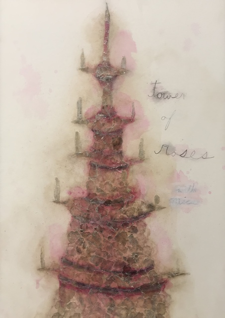 , 'Tower of Roses with Mica,' 2017, Gallery NAGA